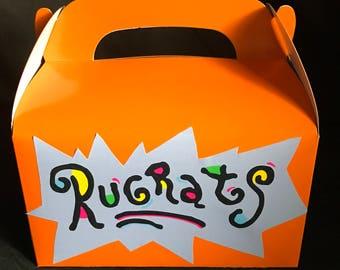 Rugrats Party Favor Boxes