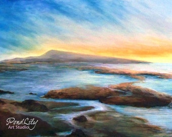 Evening Tide Print