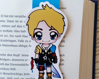 LE magnetic bookmark 'Tidus' - inspired by final fantasy x