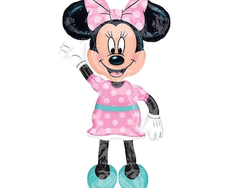 "Minnie Mouse AirWalker 54"", Air Walker Minnie Mouse 54"", Giant Minnie Mouse Balloon"