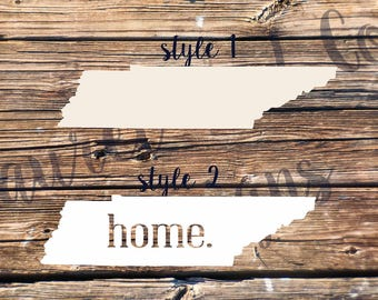 Home State Decal Stickers