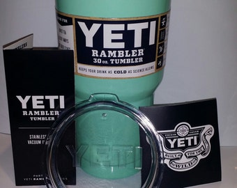 New 30oz teal YETI