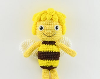 Amigurumi Basic Doll Pattern : Maya and Willy the Bee crochet pattern Dutch-English