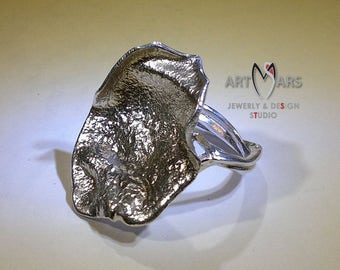 Silver ring - Fiesta collection - Handmade - Unique ring - Sterling silver - Author's technique - Mother Day - Gift For Her