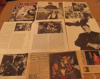VINCENT PRICE CLIPPINGS  #0404