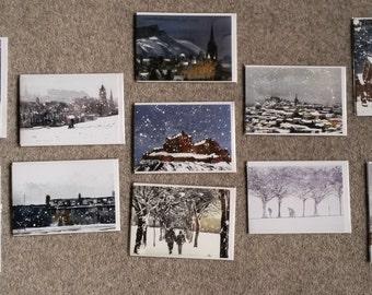 Edinburgh Winter Cards - BUY 3 AND SAVE !!