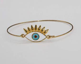 Eye bracelet / bracelet for good luck
