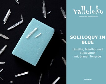 Handmade menthol natural SOAP by Valloloko - vegan