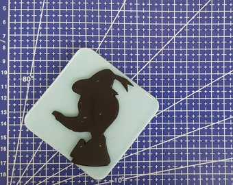 Silhouette flexible silicone mould Pagayon! (Original GeaCreations)