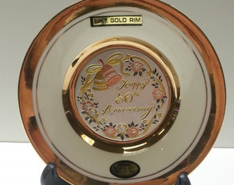 The Art of Chokin 50th Anniversary Plate