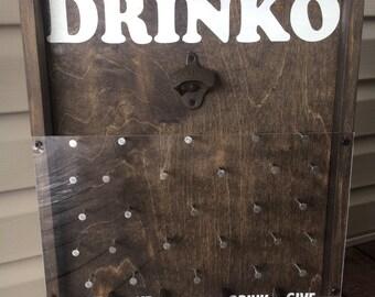 Drinko Plinko Bottle Opener Game