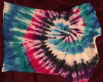 Womens spiral tie dye