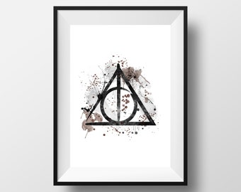 Harry Potter, The Deathly Hallows *Print*