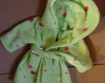 """Housecoat for American Girl or 18"""" doll"""