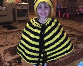 Bee Costume Poncho