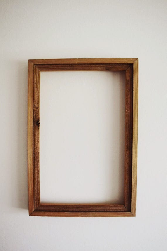 Pop-Over Letter Board Frame Rustic Finish