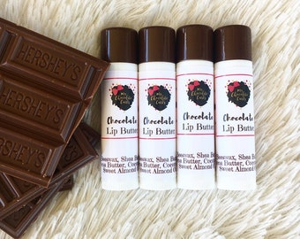 Lip Butter, Chocolate Lip Butter, Lip Balm, Chocolate