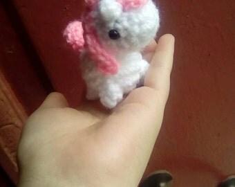 Little unicorn amigurumi | Pequeño unicornio amigurumi