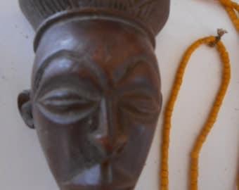African tribal Bakuba pendant,necklace