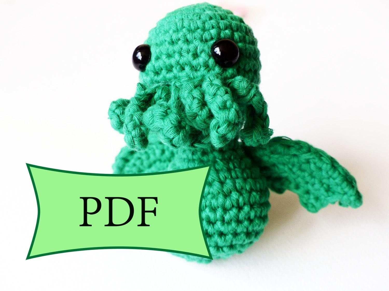 Amigurumi Crochet Tutorial : CROCHET PATTERN Video tutorial amigurumi by CraftDetonation