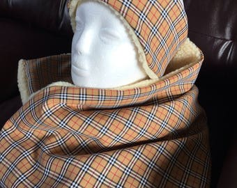 Burberry headband and scarf set