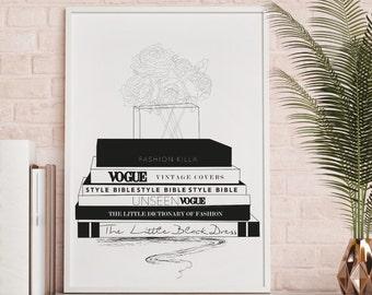 Fashion Wall Decor vogue print | etsy