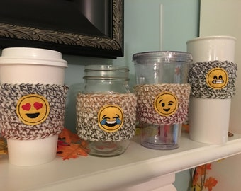 Emoji/Coffee Cozy/Cozy Sleeve