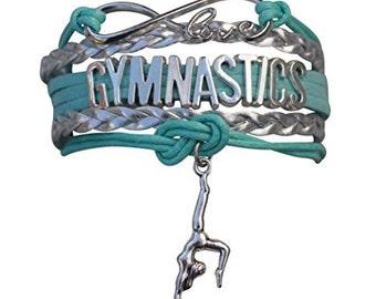 Gymnastics Gift- Gymnastics Bracelet – Gymnastics Gift - Gymnastics - Perfect for Gymnast, Gymnastics Coaches & Gymnastics Team Gifts
