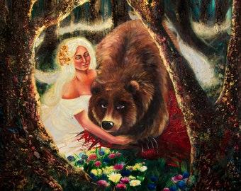 Snow White and the Bear