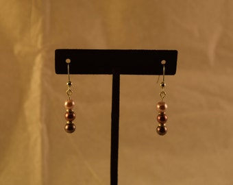Brown Ombre Earrings
