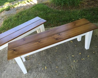 Custome Made Farm Table Benches