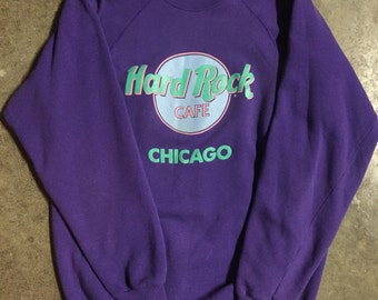 Hard Rock Cafe Chicago vintage crewneck