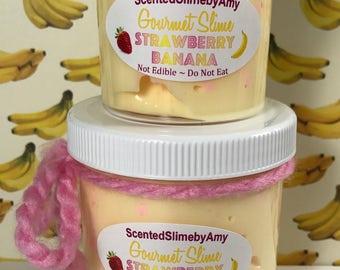 Strawberry Banana Slime