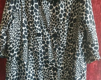 Jacqueline Godard Paris silk long jacket.