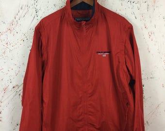 Vintage 90s Polo Sport Windbreaker Jacket Size L