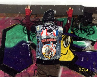 Iron Maiden Punk Rock Vest