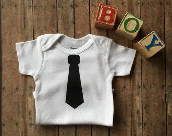 SALE! Tie Short Sleeve Infant Bodysuit