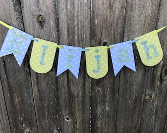 Made to Order Banners and Buntings for Celebrations and Just Because- Deluxe Version