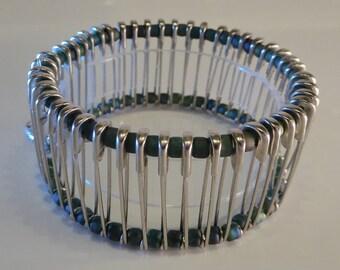 Sophisticated Steampunk Beaded Bracelet