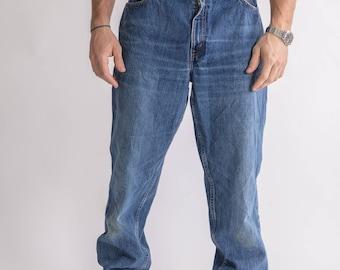 Vintage 90s 550 Blue Levis Jeans