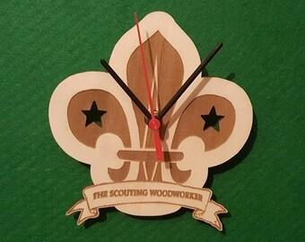 Personalised Scouting Clock