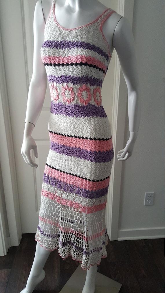 Crochet Bikini Dress