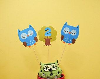 Owl Tree Topper Etsy