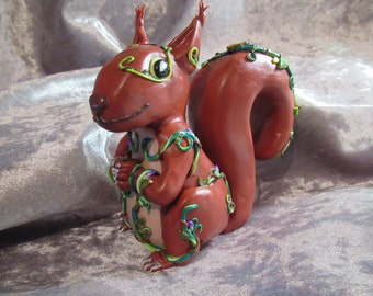Forest Guardian Squirrel - OOAK
