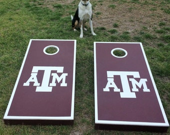 Texas A&M Cornhole Boards
