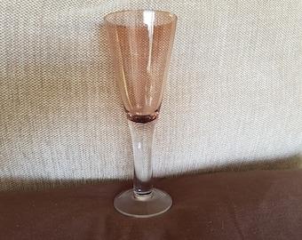 Purple large wine glass, vintage