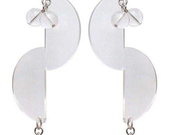 Plastic Fantastic Inveitable earrings  Edie Sedgwick Inspired