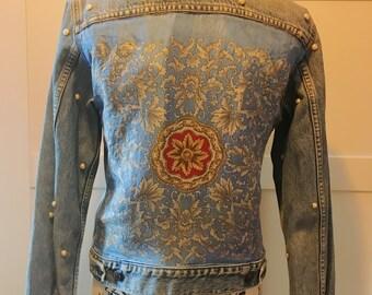 Self-made Levis denim jacket