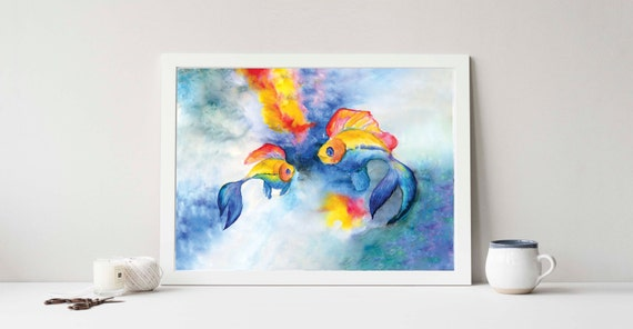 Tropical Fishes Print