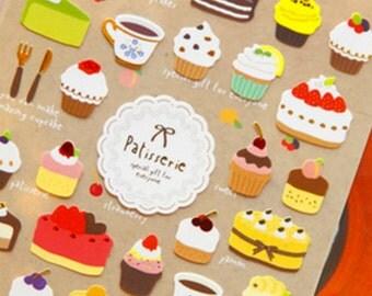 Kawaii Cute Patisserie Bakery Cake Teatime Stickers